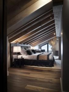 chambre à coucher bois