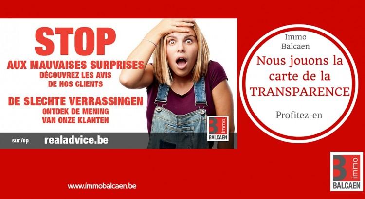 STOP mauvaises surprise