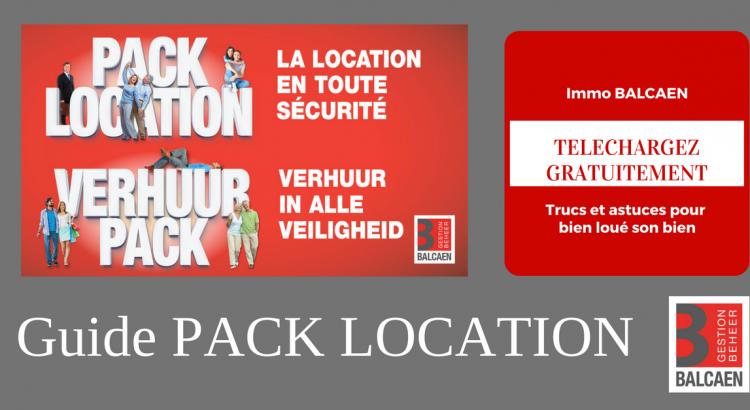 Téchargez notre guide PACK LOCATION gratuitement pour tous les bailleurs