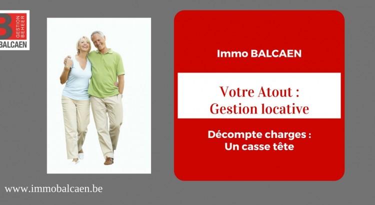 Repartition des charges et travaux dans un immeuble immo balcaen - Repartition charges locatives ...