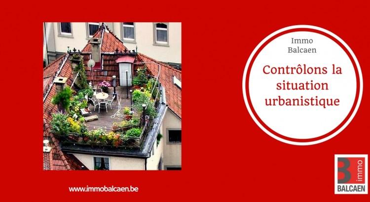 Contrôlons la situation urbanistique